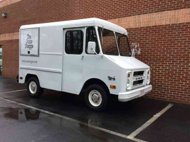 Gmc P10 Step Van 1980 Van Box Trucks
