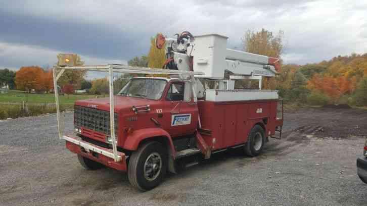 Gmc Topkick 1988 Bucket Boom Trucks