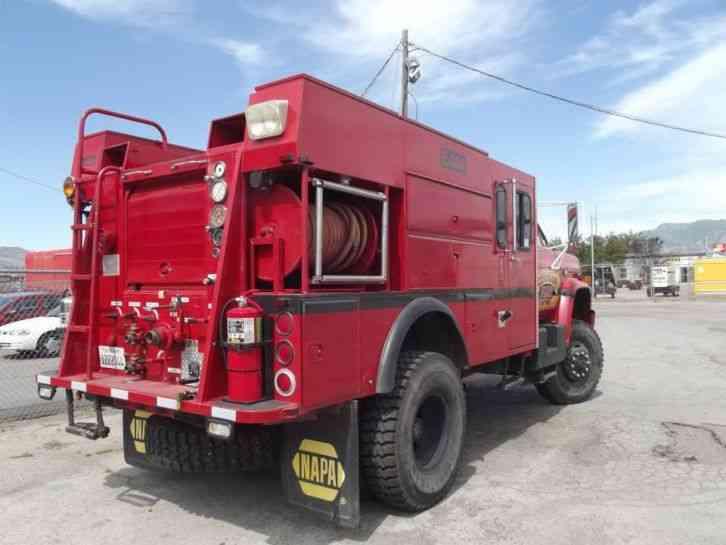 gmc c6500 c7d042 1987 emergency fire trucks. Black Bedroom Furniture Sets. Home Design Ideas