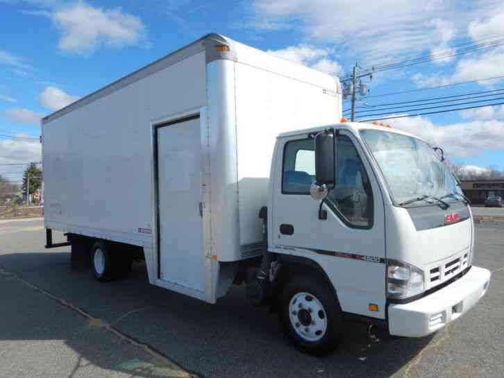 Gmc W4500 2007 Van Box Trucks