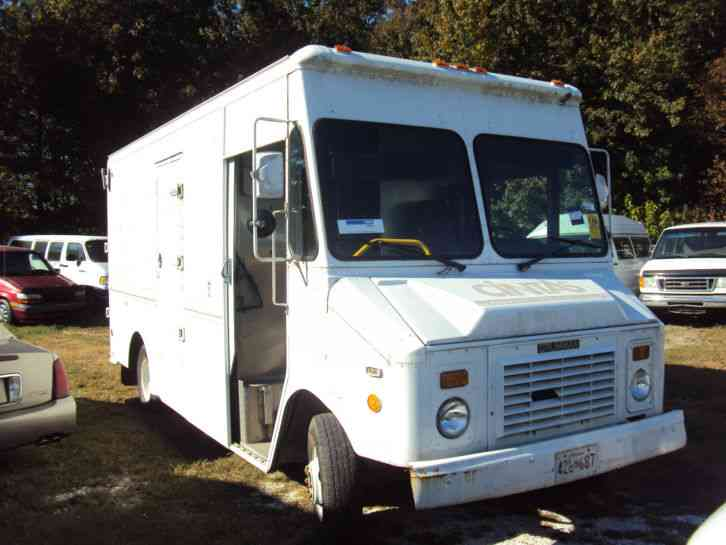 Grumman step van 14ft cargo 14ft aluminum step van side - Used exterior doors for sale near me ...