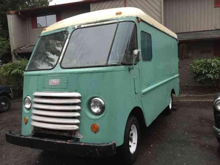 Step Vans For Sale >> Grumman Ford Step Van 1957 Van Box Trucks