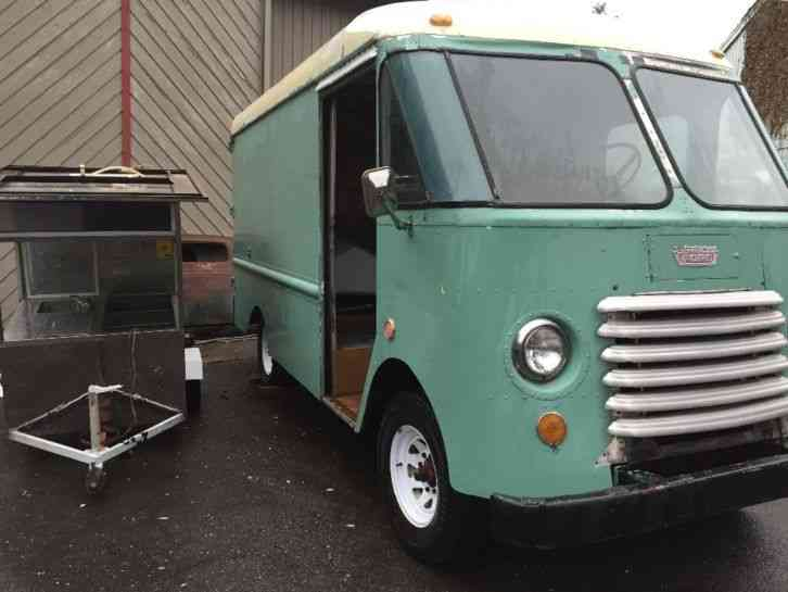 Reading Utility Body >> Grumman ford Step van (1957) : Van / Box Trucks