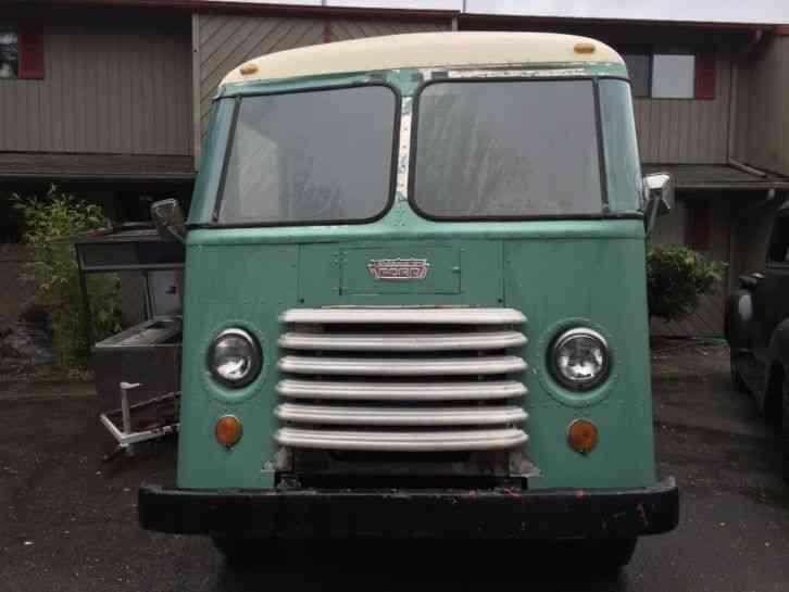 Grumman Ford Step Van 1957 Van Box Trucks