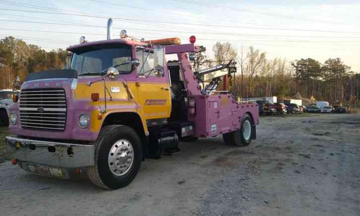 ford heavy duty wrecker tow truck 1978 wreckers. Black Bedroom Furniture Sets. Home Design Ideas