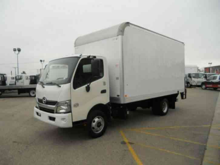 Hino 155 16ft Box Truck Only 65000 miles 14, 500# GVWR WARRANTY (2017)