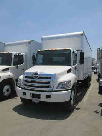 Hino 268 Box Truck 24ft 26ft 29ft Liftgate Auto Freight