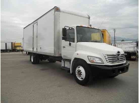 HINO 268 BOX TRUCK 28FT HIGH CUBE-AIR RIDE MOVING RELOC. FREIGHT DELIVERY- MULTIPLE IN STOCK (2010)