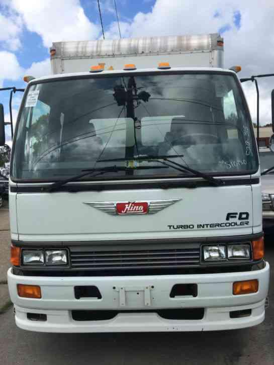 Used Box Trucks For Sale By Owner >> HINO TOYOTA FD2218 (1997) : Van / Box Trucks