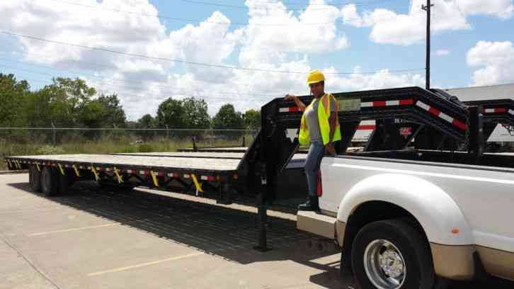 Ford F 550 For Sale >> Ford F350 w/ 40ft gooseneck trailer (2011) : Commercial Pickups
