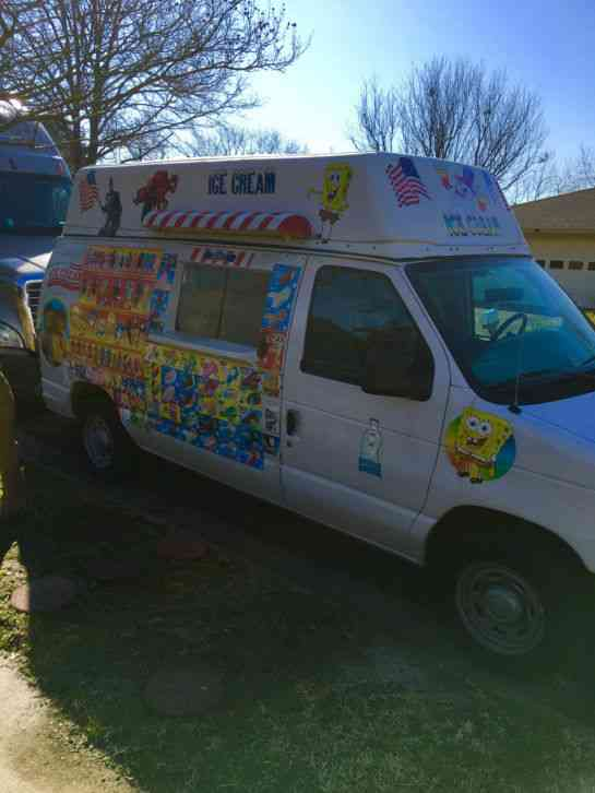 Ice Cream Truck For Sale >> Ford Ice Cream Truck E150 Series Van 2005
