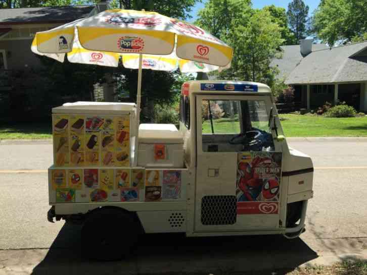 Ice Cream Cart For Sale >> CUSHMAN HAULSTER (1999) : Van / Box Trucks