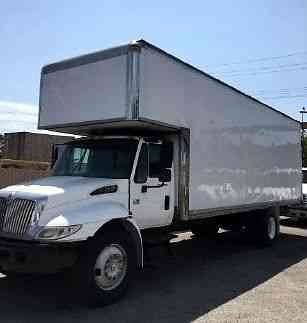 9cb8e82391 International 24ft Moving Box Truck with Attic- coopola and swing doors