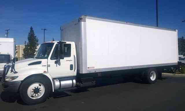 international 4300 durastar 26ft box truck auto 3000 alum liftgate 2011 van box trucks. Black Bedroom Furniture Sets. Home Design Ideas