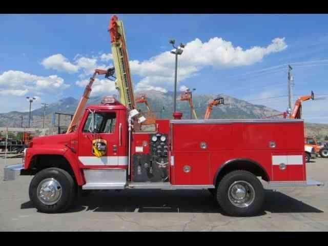 International S1800 (1989) : Emergency & Fire Trucks