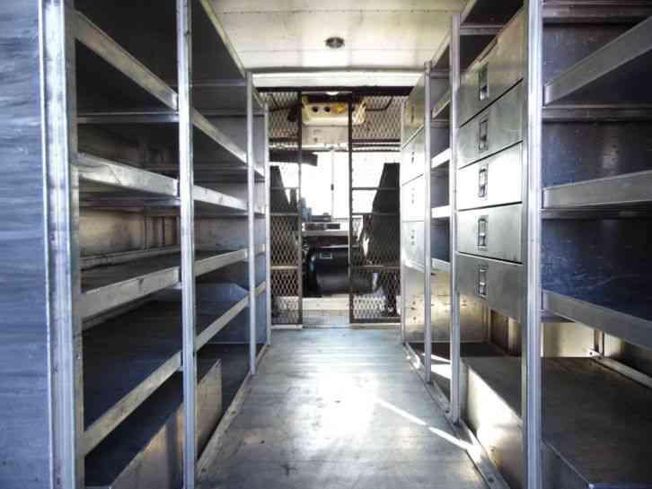 Work Vans For Sale >> INTERNATIONAL UTILIMASTER 7. 3L Diesel Step Van (2000) : Utility / Service Trucks