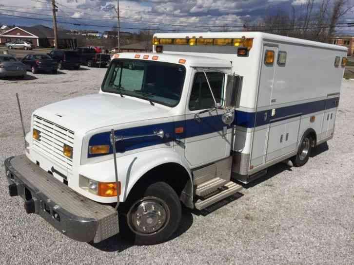 International Lp 1996 Emergency Amp Fire Trucks