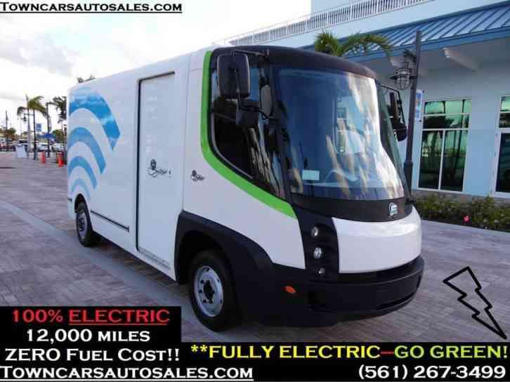 International All Electric Cargo Van 2010