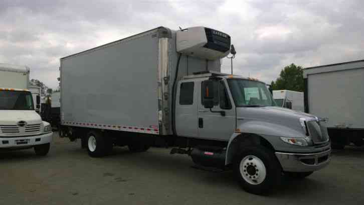 Expeditor Trucks For Sale >> International 4400 -Extra cab Sleeper-22ft Reefer Refrigerated box truck- Al. liftgate 310HP-26 ...