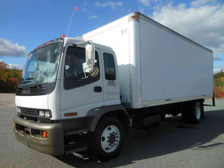 Isuzu Ftr  2007    Van    Box Trucks