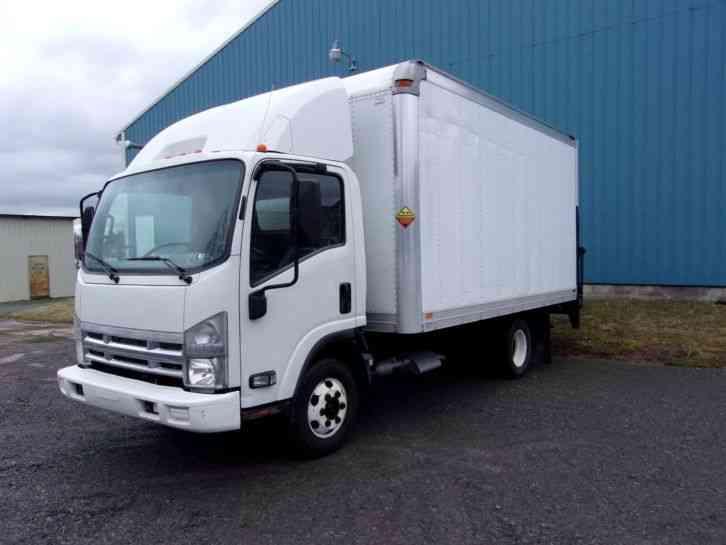 Isuzu Npr 2008 Van Box Trucks