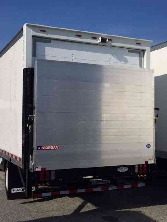 Isuzu Npr Hd Cng 16ft Box Large Platform Aluminum Liftgate