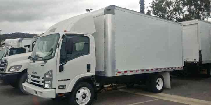 Isuzu NPR-HD 16ft LIFTGATE 9K MILES furniture delivery - WRNTY till Aug 2022/ 75, 000Mi (2017)
