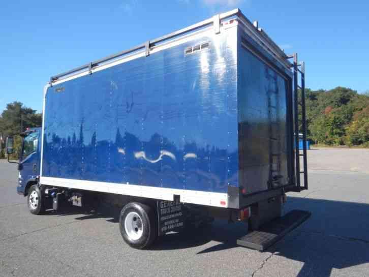 Isuzu Npr Hd 2012 Van Box Trucks