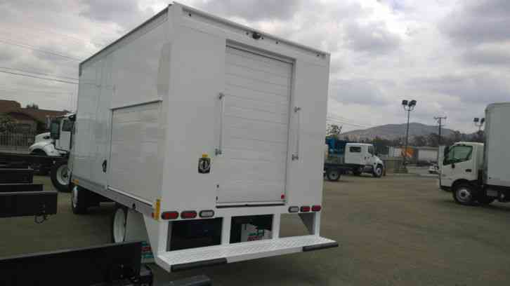 Walk In Freezer For Sale >> Isuzu NPR-HD 14FT BOX VENDING BEVERAGE DELIVERY W/ FREEZER ...