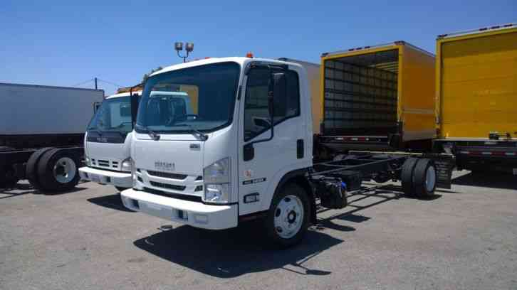 Isuzu NRR Super Deal Cab Chassis for Box Flatbed Dump Tow Truck (2016)