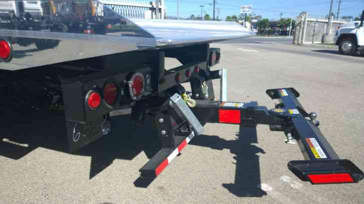 Isuzu Nrr 21ft Rollback Alum Jerrdan Bed 102 Without Wheelift 2yr 60k Miles