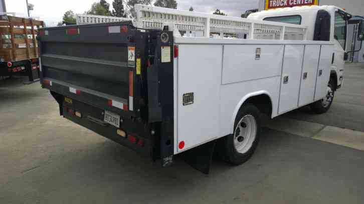 Isuzu Nrr Service Truck Utility Bed Nqr F Gmc Mechanics Plumber F Npr Hino on Isuzu Npr Box Truck