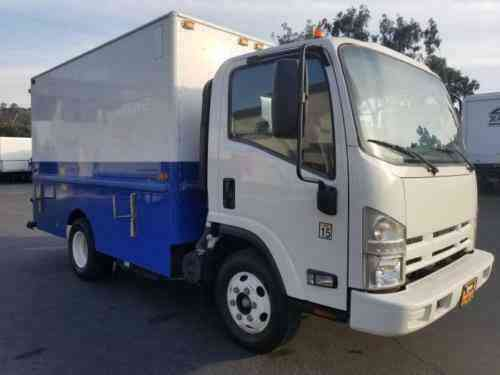 Isuzu NPR HD 11ft Plumabers Box Truck 14000# GVWR (2014)
