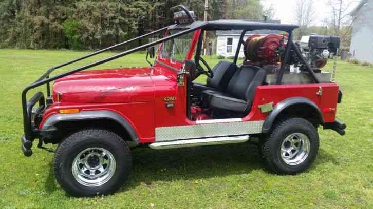JEEP CUSTOM BUILD CJ7 (1980)