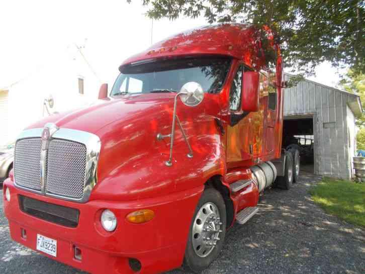 D tails kenworth t2000 sleeper semi trucks for Interieur kenworth t2000