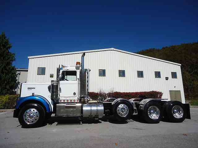 Kenworth W Tri Axle Daycab Lowboy Tractor Cummins Speed Wetline on kenworth air suspension dump valve