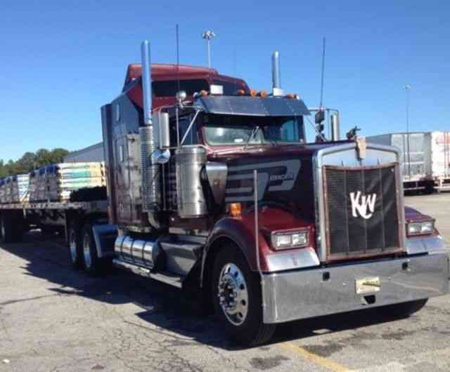 Kenworth W900l 1992 Sleeper Semi Trucks