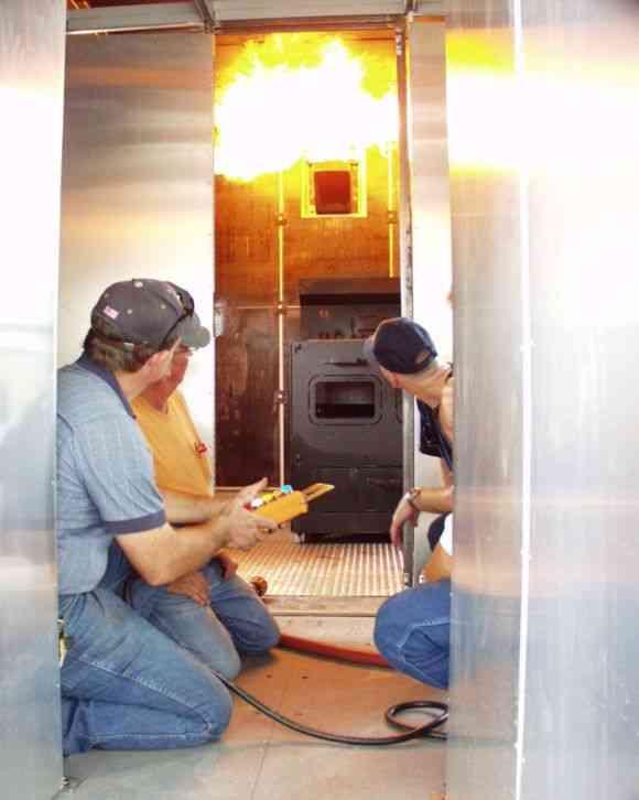 Kidde Mobile Fire Training Prop T 4000 2007 Emergency