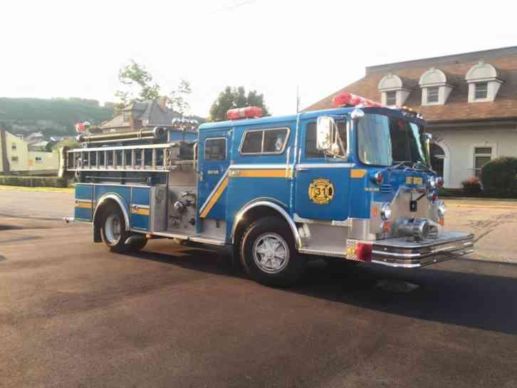 Mack Cf 611 1980 Emergency Amp Fire Trucks
