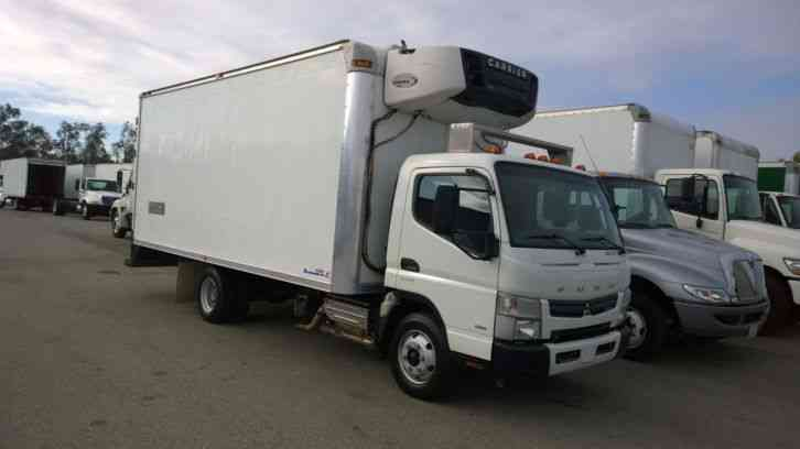 Mitsu Reefer Truck 18ft Refrigerated Box Carrier Supra