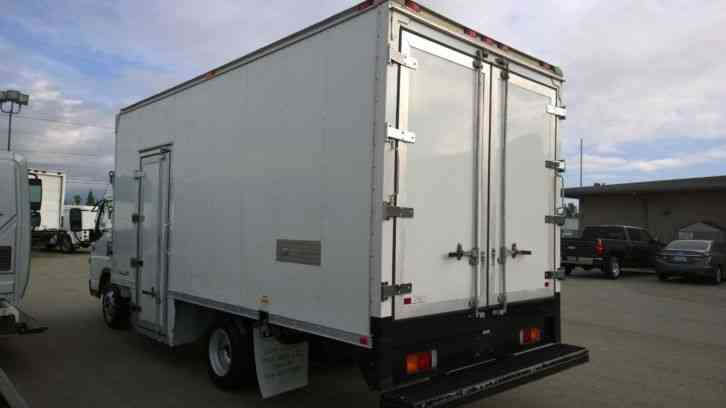 Refrigerated Van Price >> Mitsu Reefer truck 18ft Refrigerated box -Carrier Supra 550 w electric stanby- 18K LBS GVWR ...