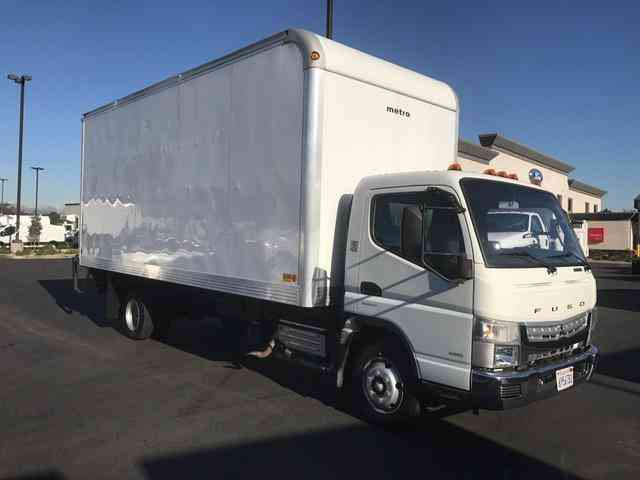 Mitsubishi Fe 180 20ft Box Truck Auto High Cube Diesel