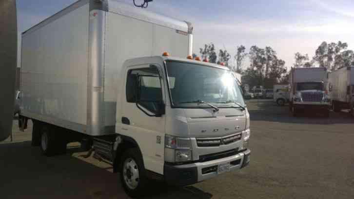 mitsubishi canter fuso box truck 14ft 16ft liftgate 4 nice. Black Bedroom Furniture Sets. Home Design Ideas