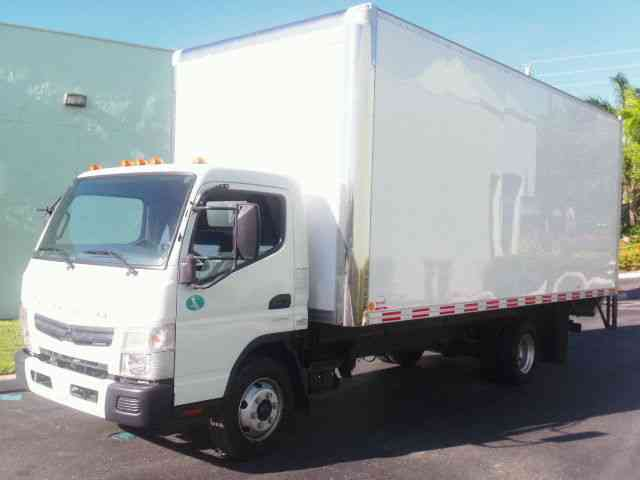Isuzu CANTER (2012) : Van / Box Trucks
