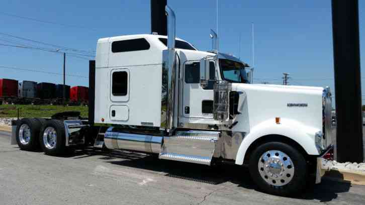 Kenworth Icon 900 2016 Sleeper Semi Trucks