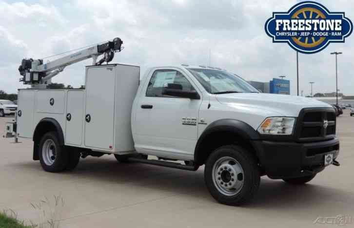 New Ram Tradesman L I Cummins X Service Bed Crane Utility Truck on Dodge Ram 2500 Tradesman For Sale