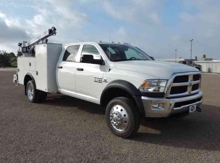 Ram 5500 Chassis 2016 Utility Service Trucks