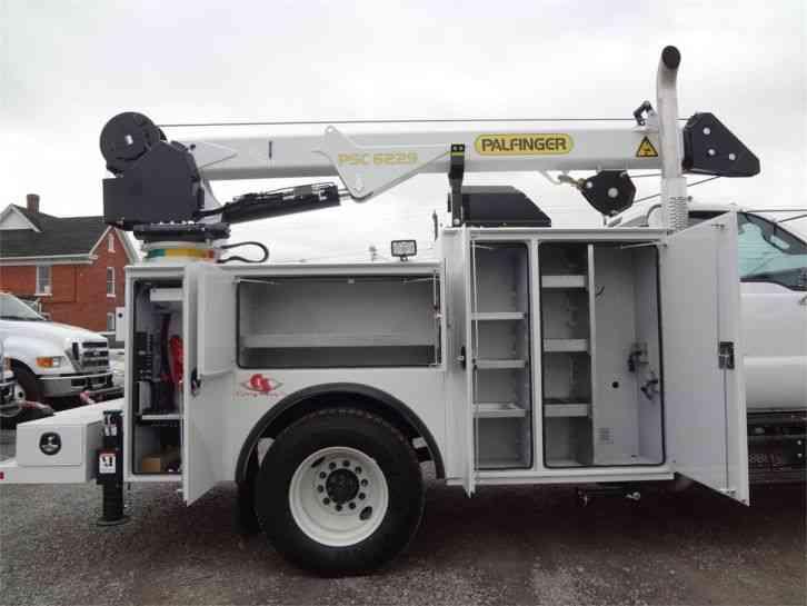 Palfinger Psc 6229 2015 Utility Service Trucks