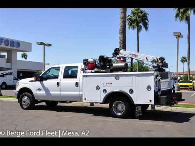Automatic Semi Truck >> Ford F-350 Crane Body 4x4 -- (2016) : Utility / Service Trucks