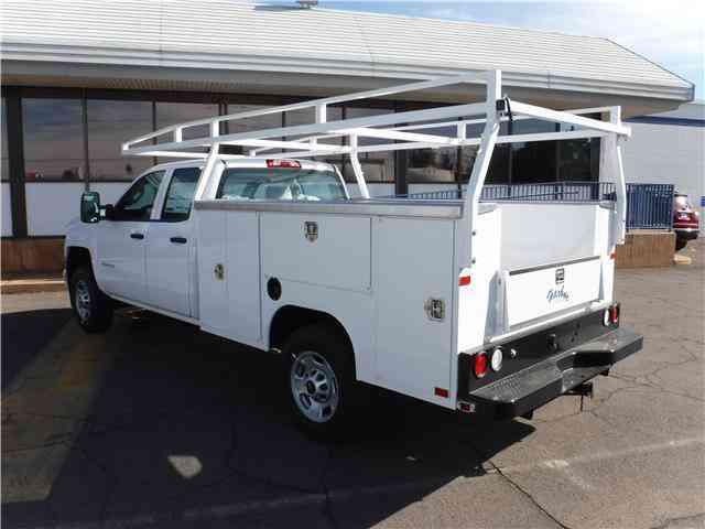 silverado chevrolet truck utility service 2500hd jingletruck work body trucks cab double
